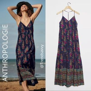 NWT ANTHROPOLOGIE MAEVE GENEVA MAXI DRESS SIZE S
